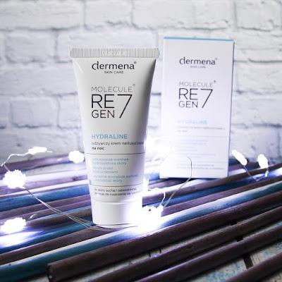 Dermena Molecule Regen7 Hydraline Odżywczy krem natłuszczający na noc Dermena Hydraline