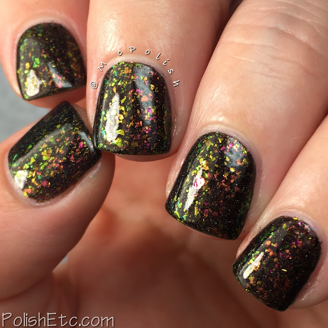 Top Shelf Lacquer - Holiday Flake Out Collection - McPolish - Fireside Delight