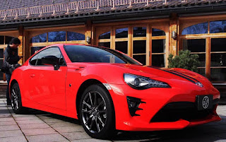 Launched Toyota 86 860 Special Edition Right Front View