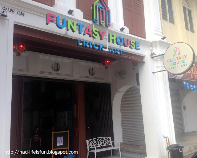 Funtasy House Trick Art, Ipoh