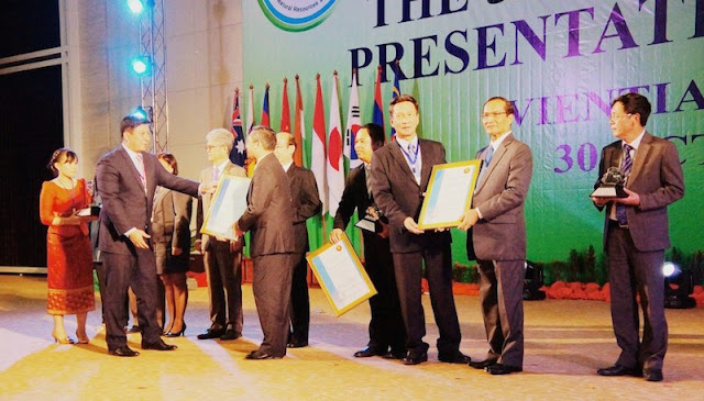 2014 ASEAN Environmentally Sustainable Cities Award and Certificates of Recognition