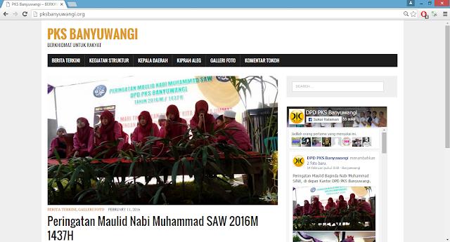 website pksbanyuwangi.org
