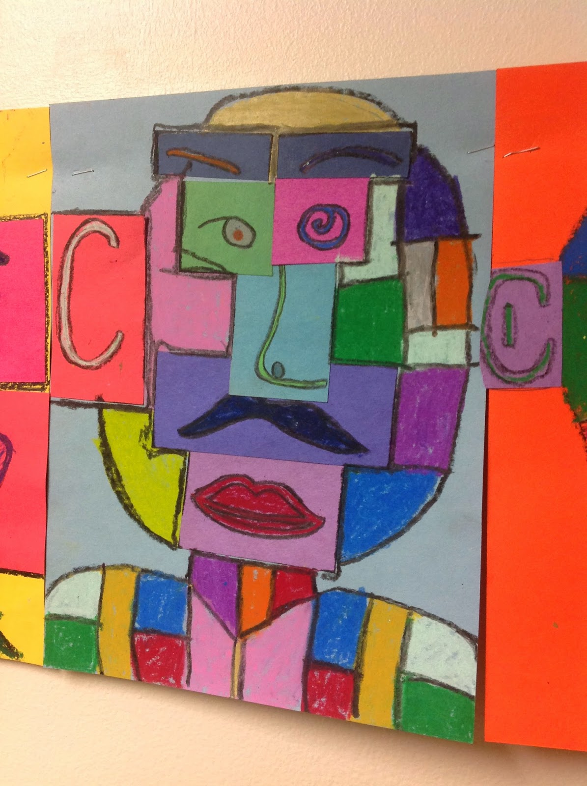 The Artsy Fartsy Art Room Cubism With 4th And 5th