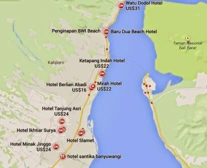 info lengkap daftar hotel di banyuwangi