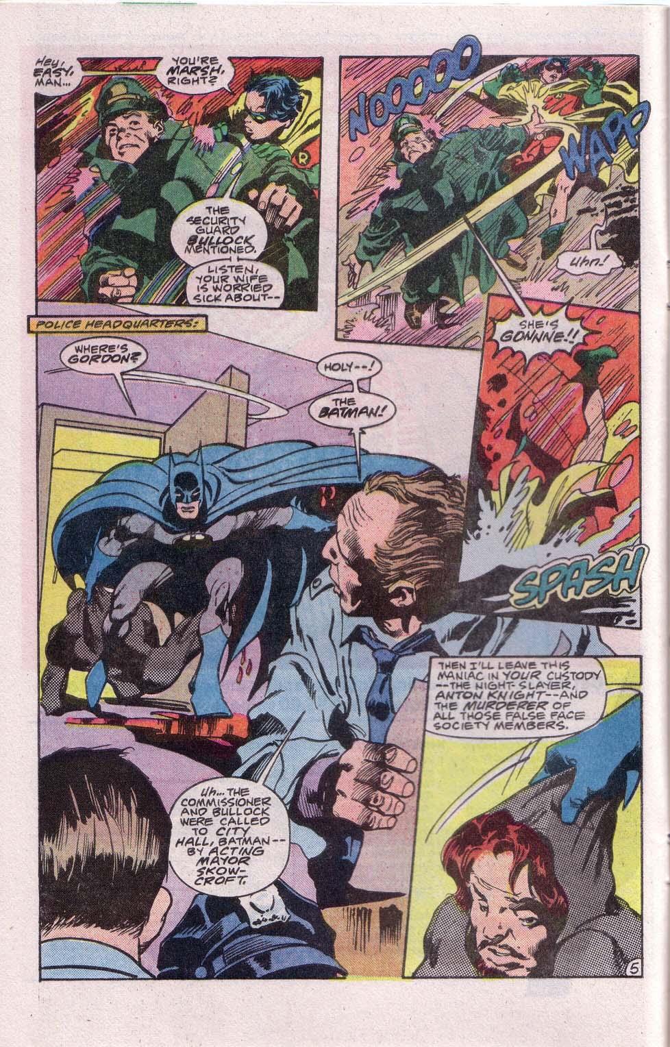 Detective Comics (1937) 558 Page 6