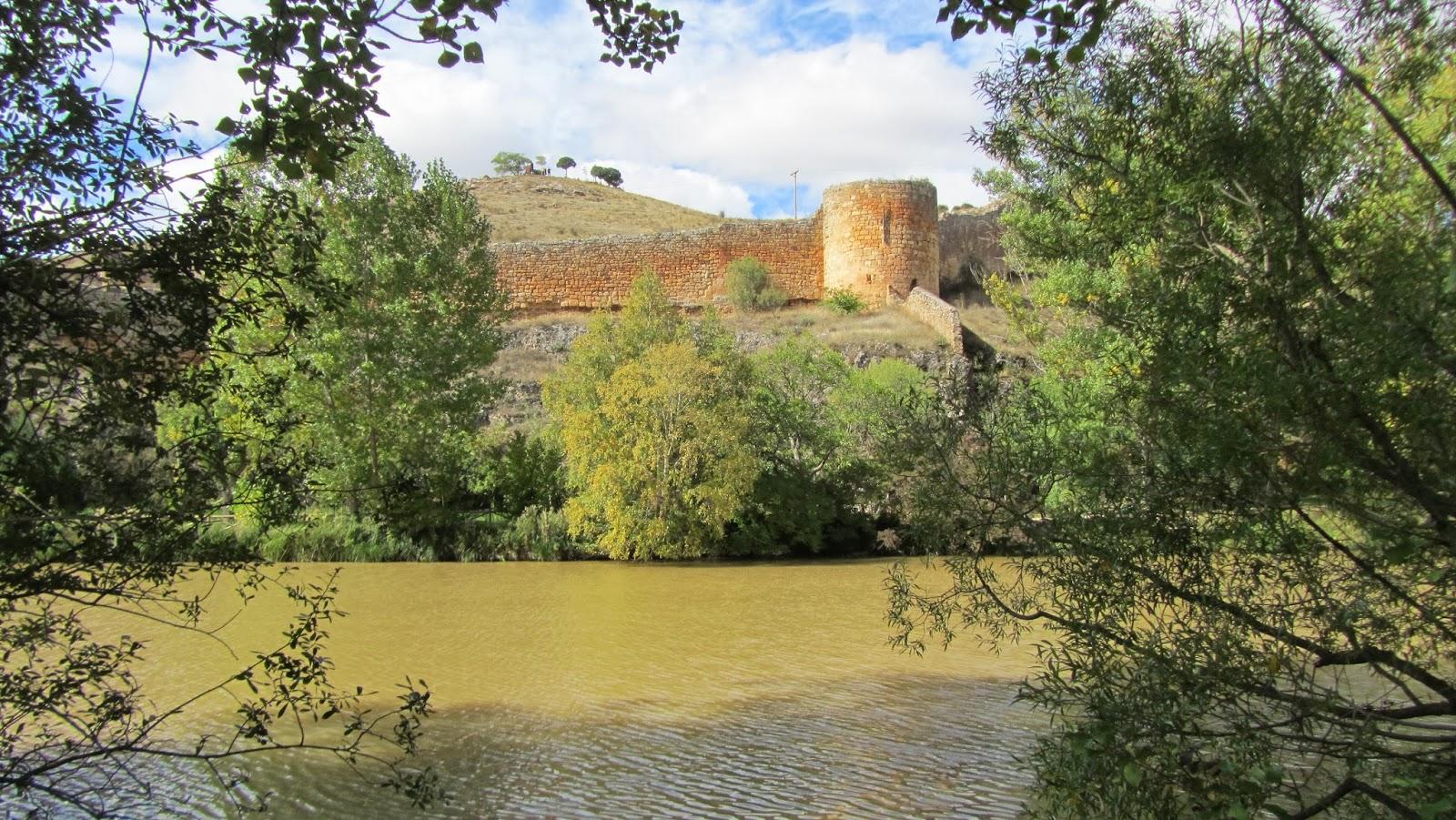Muralla de Soria, frente a Arcos de San Juan de Duero
