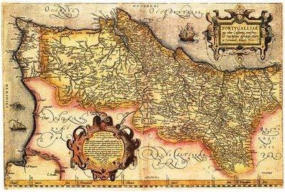 mapa cartográfico de portugal De Rerum Natura: MAPAS ANTIGOS DE PORTUGAL mapa cartográfico de portugal