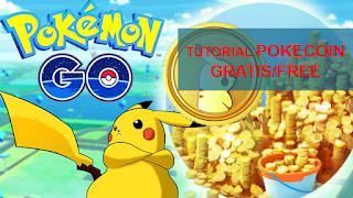 Cara Mendapatkan Pokecoin Gratis Di Game Pokemon GO aman dan resmi