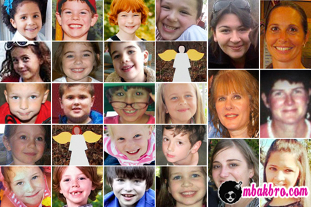 video pembantaian Sandy Hook
