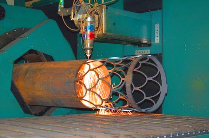3D лазерная резка труб круглого сечения
