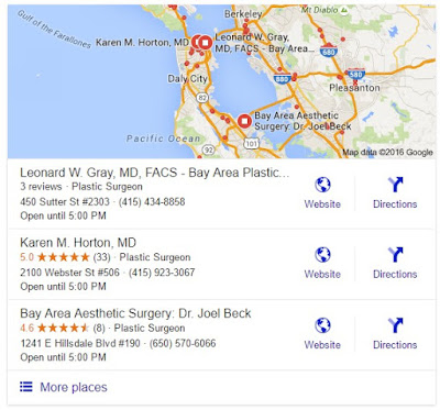 Search Marketing SEO PPC Plastic Surgeons