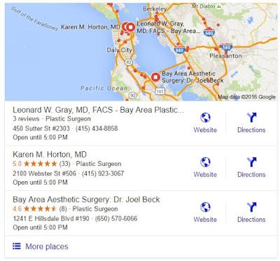 Search Marketing SEO PPC Plastic Surgeons