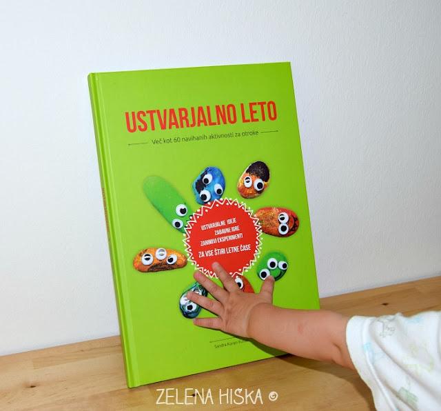 Zelena hiška: kače iz milnih mehurčkov - in najljubša knjiga