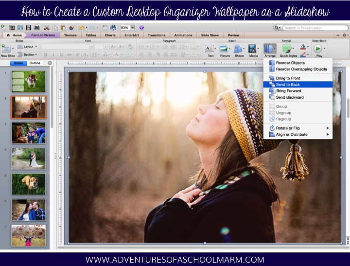 Are you tired of having the same desktop organizer on your computer for too long? Use this tutorial to create a custom wallpaper slideshow that will automatically cycle through all of your favorite photos.