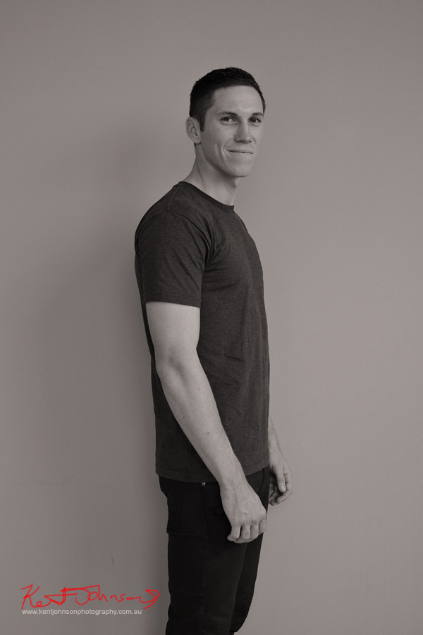 Casual men's style, studio portfolio shoot by Kent Johnson.