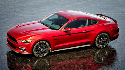 Ford Mustang GT side look Hd picture