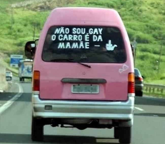Frases de carros engraçadas