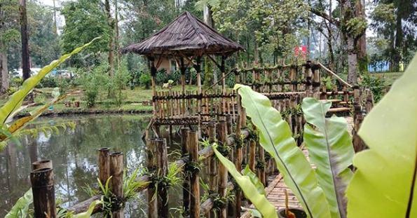 Fasilitas Taman Wisata Alam Cimanggu Ciwidey Bandung