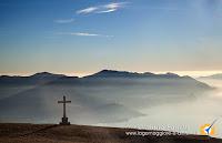 Panorama sul lago Maggiore dal monte Cadrigna