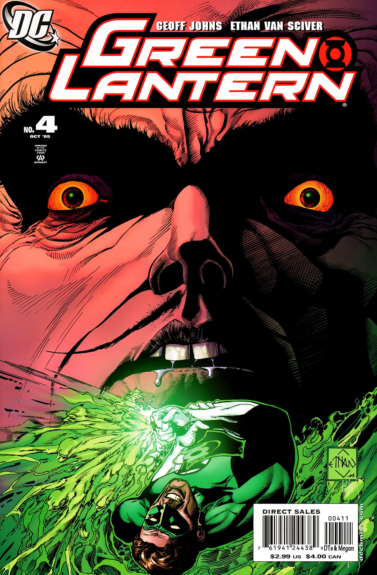 Green Lantern (2005) 4 Page 1