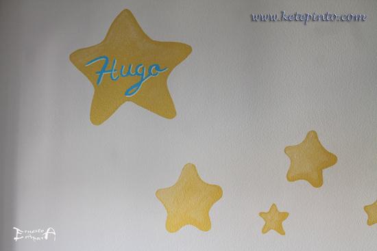 Decorar una habitación con estrellas personalizadas