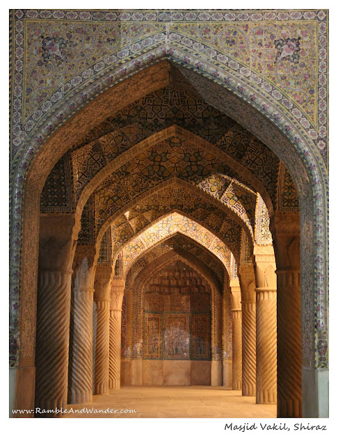 Iran: Vakil Mosque, Shiraz - Ramble and Wander