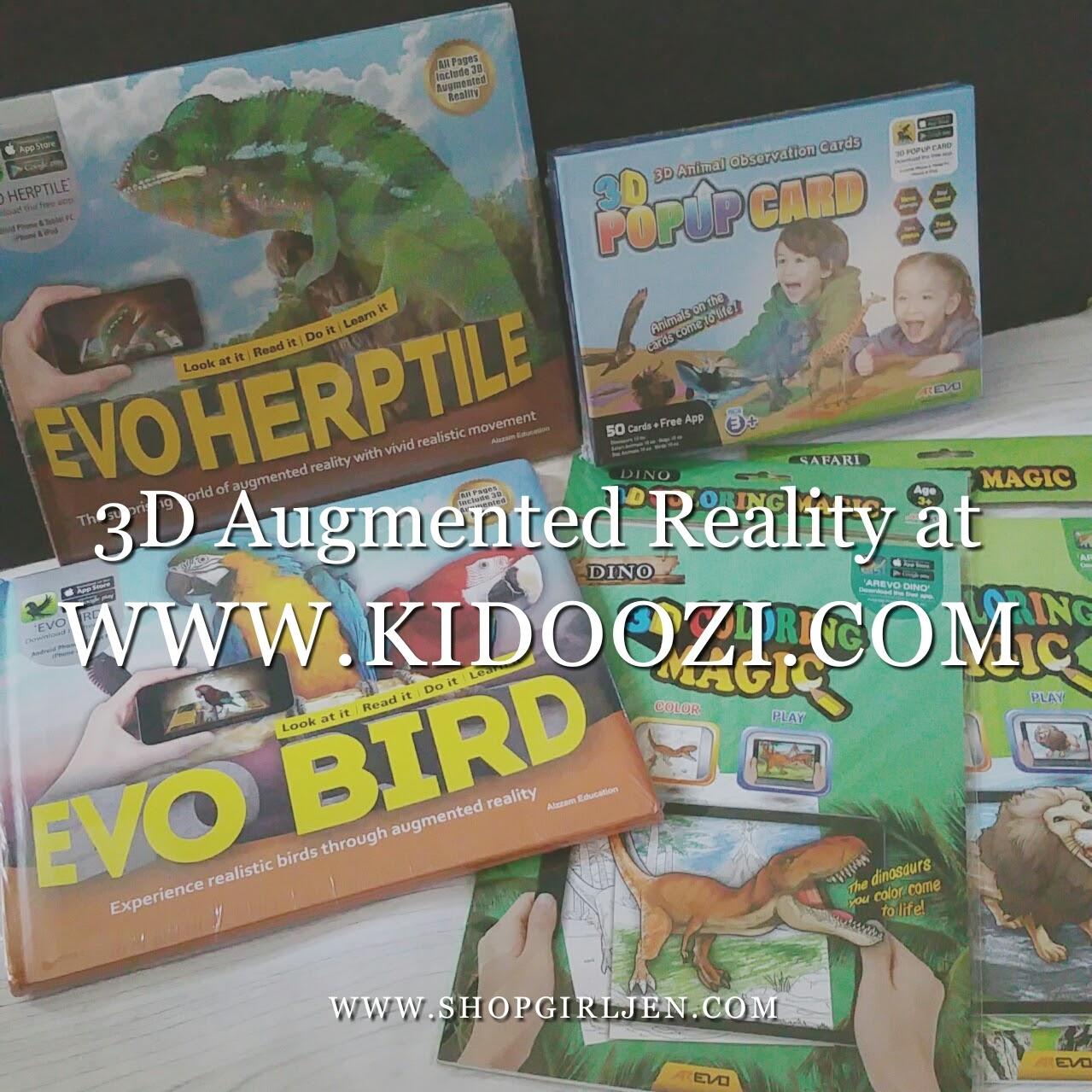 Shopgirl Jen Kidoozi Featured Items Augmented Reality