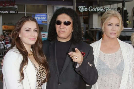 Kissopolis Gene Simmons Lands New Reality Series With Wife Daughter