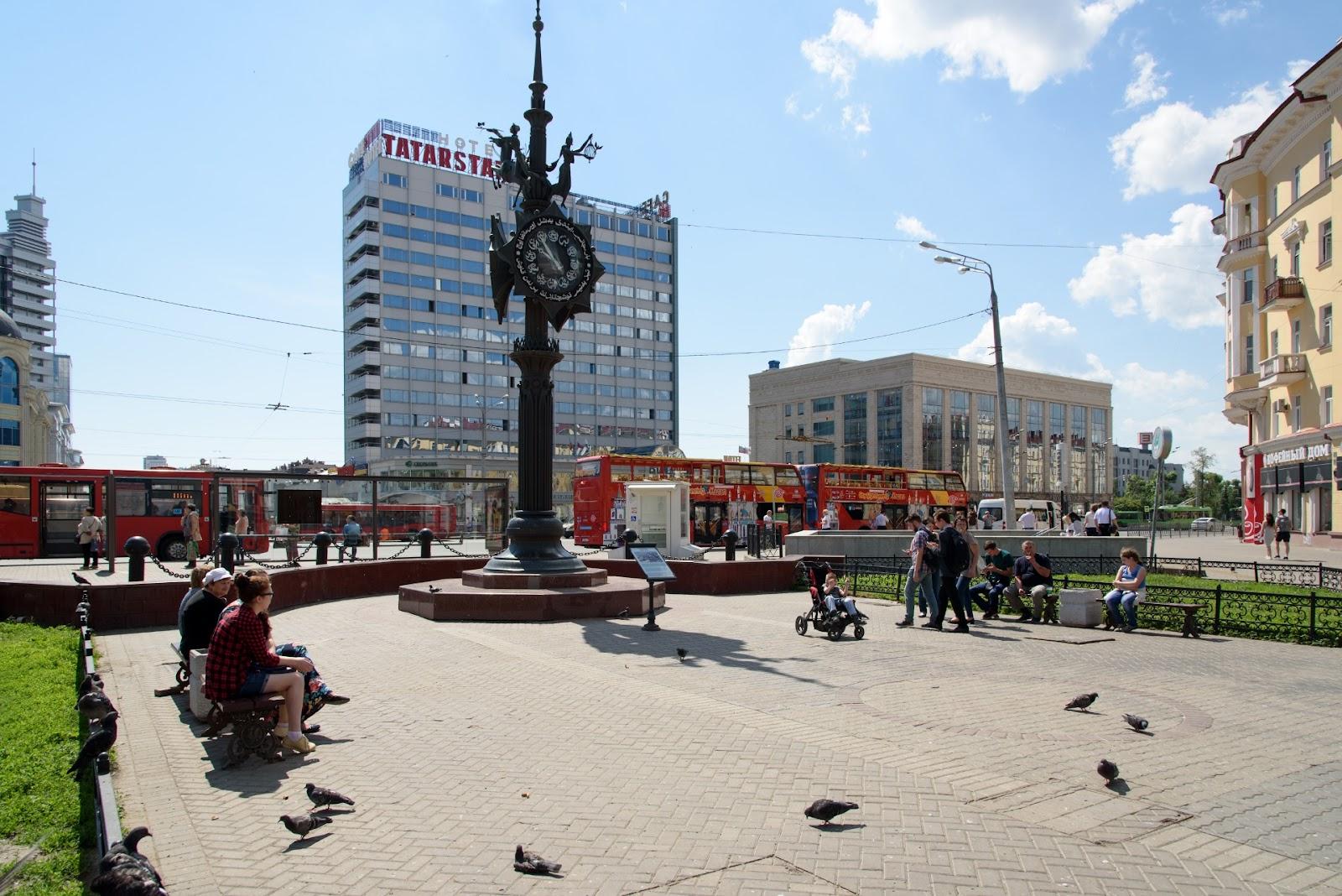 Площадь Тукая. Фото