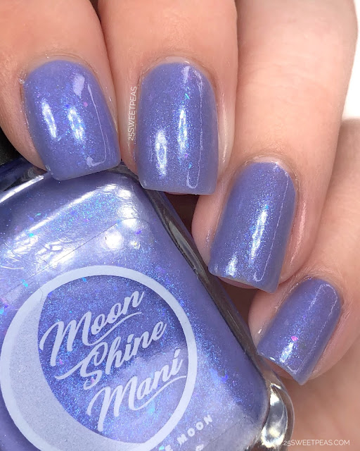 25 Sweetpeas Moon Shine Mani