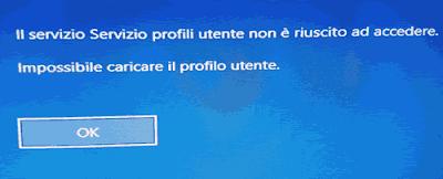 Impossibile creare nuovi utenti su Windows 10
