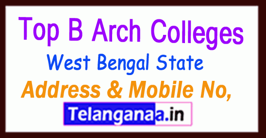 Top B Arch Colleges in West Bengal