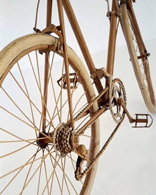 07-Bicycle-Detail-Life-Size-Chris-Gilmour-Cardboard-Sculptures-www-designstack-co