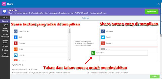 Cara Mudah Pasang Tombol Share di Blogspot