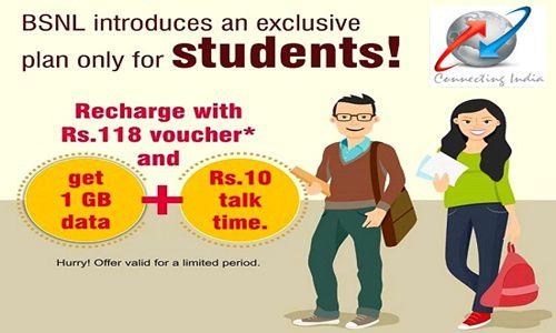 BSNL Student Special Prepaid plan