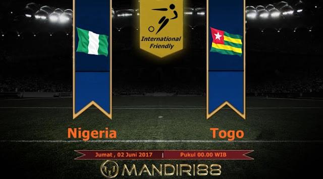 Prediksi Bola : Nigeria (N) Vs Togo , Jumat 02 Mei 2017 Pukul 00.00 WIB