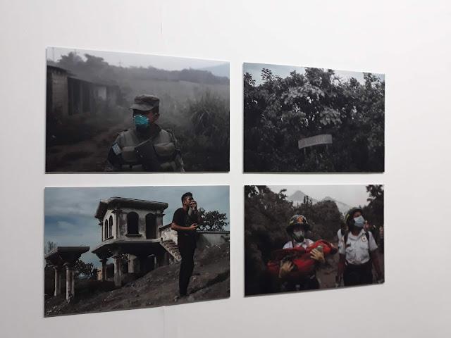 Imágenes de la tragedia del Volcán de Fuego (obra GuatePhoto)