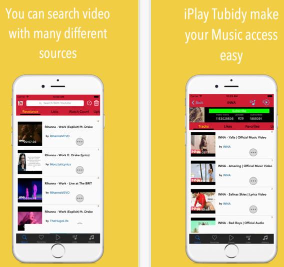 iplay tubidy music videos