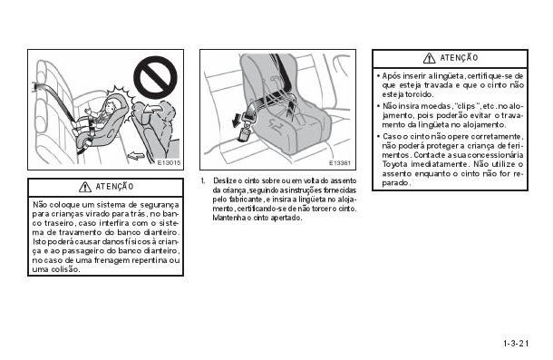 manuais do propriet u00c1rio  manual do toyota corolla 1999