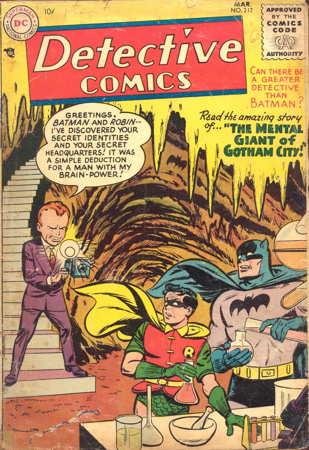 Detective Comics (1937) 217 Page 0