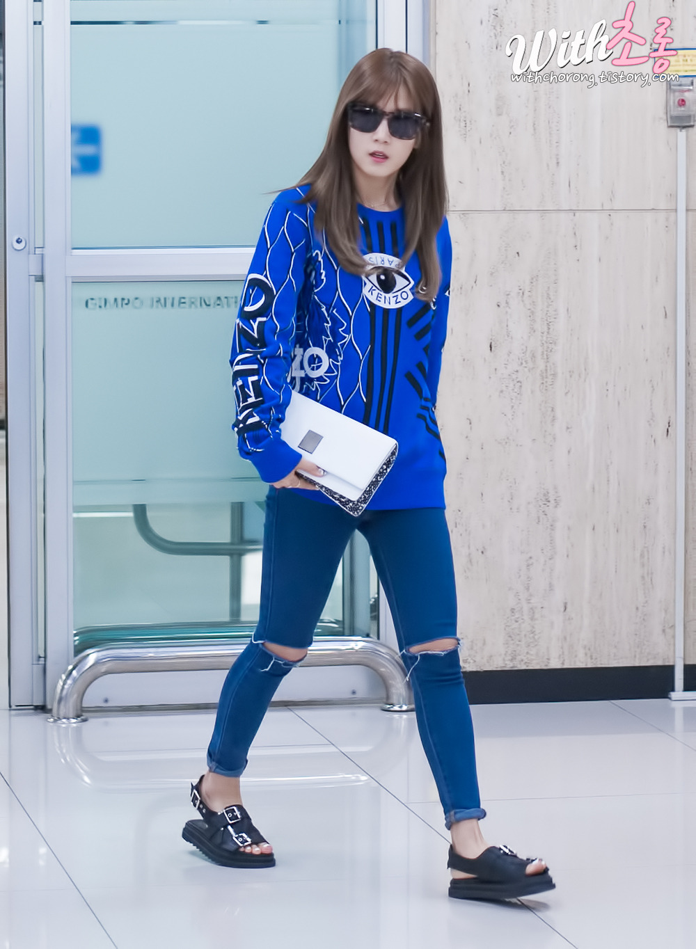 Apink Chorong Airport Fashion Official Korean Fashion