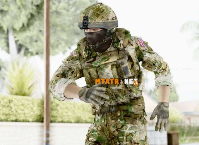 MTA SA United Kingdom Soldier
