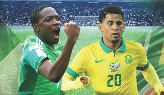 Bafana Bafana and Nigeria will go toe-to-toe in the opening AFCON qualifier in Group E.