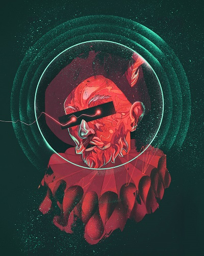 """Space Fest"" by Patryk Hardziej, 2017 