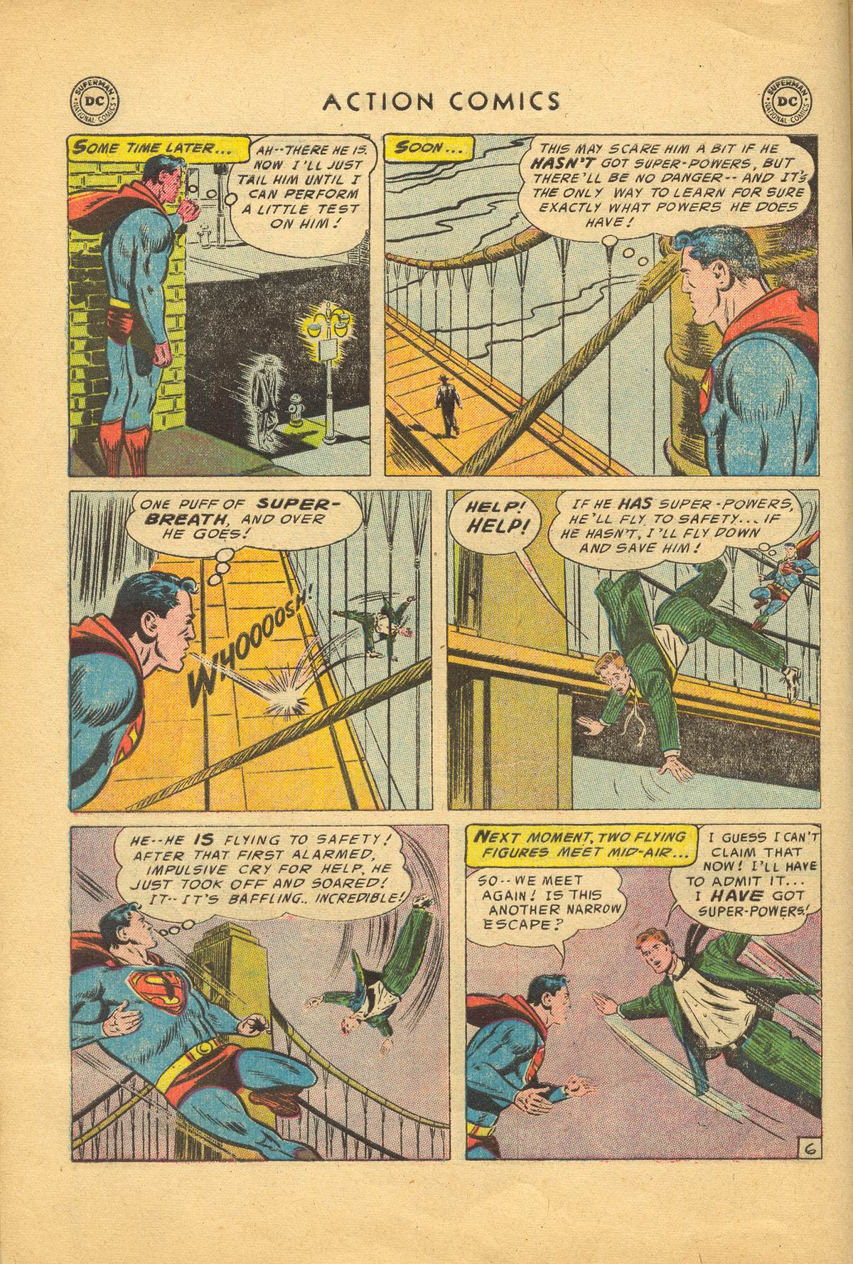 Read online Action Comics (1938) comic -  Issue #209 - 8