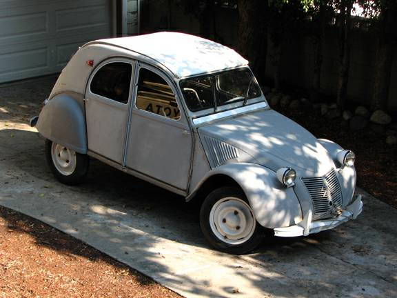 Ready To Restore, 1959 Citroen 2CV