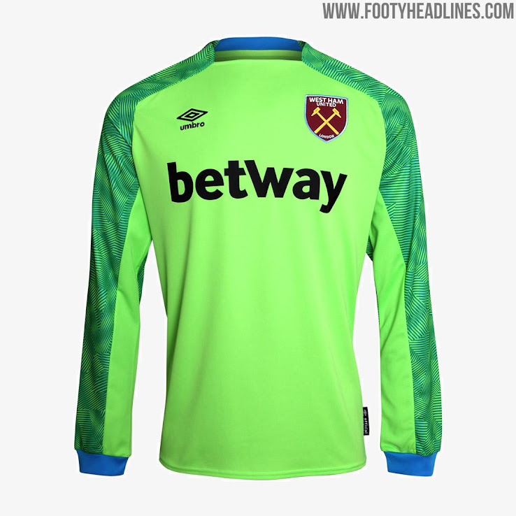 f194aae56 West Ham 18-19 Home & Away Kits Released - Footy Headlines