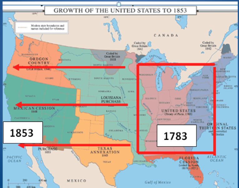 Manifest Destiny And Westward Expansion | manifest destiny ...