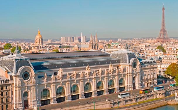 Musee' d'Orsay, Paris, France