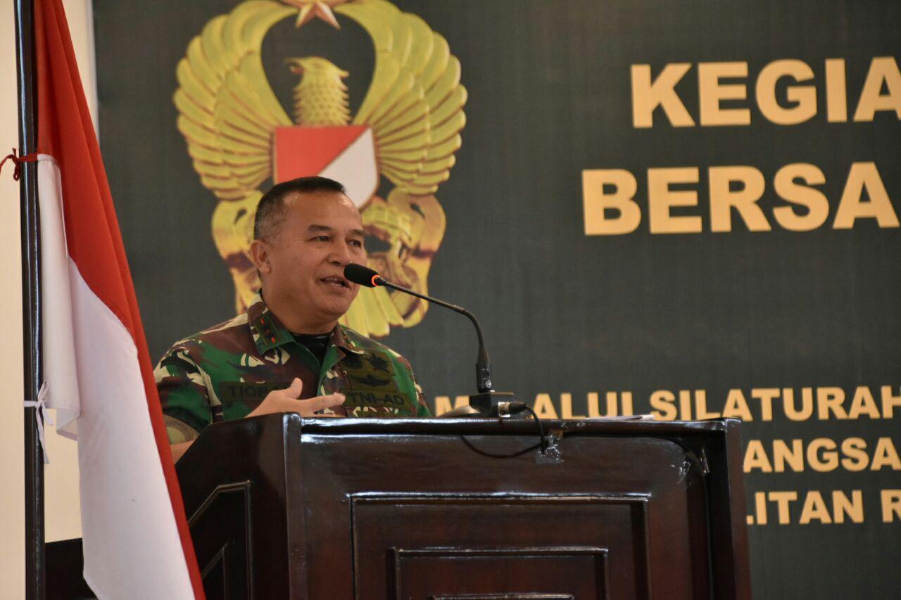 Pangdam XIII/Merdeka : Jaga rasa nasionalisme dan patriotisme